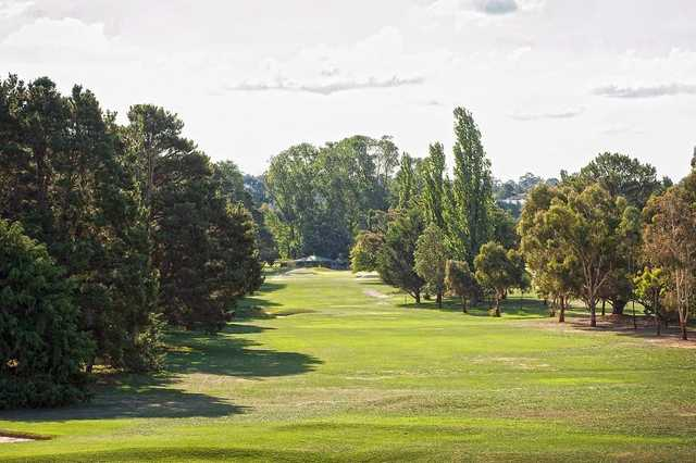 View from Goulburn Golf Club's 16th hole
