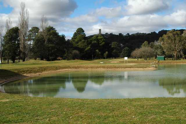 View from Goulburn Golf Club