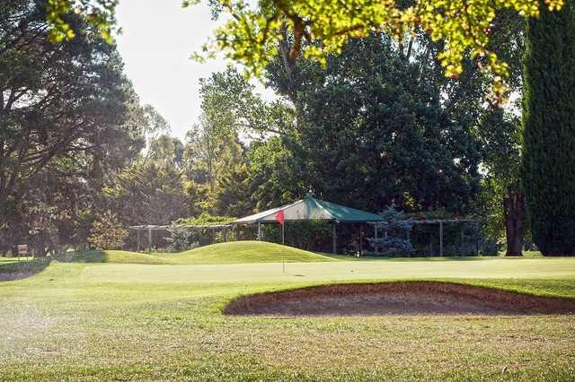 View from Goulburn Golf Club's 16th hole