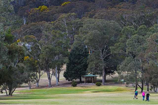 View from Goulburn Golf Club's 14th hole