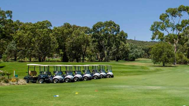 A view from The Vines Golf Club of Reynella