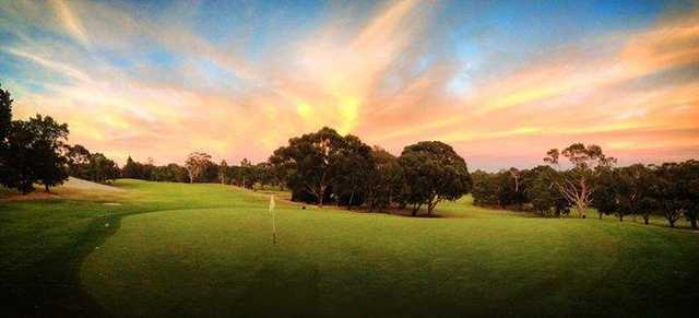 View of a green at The Vines Golf Club of Reynella