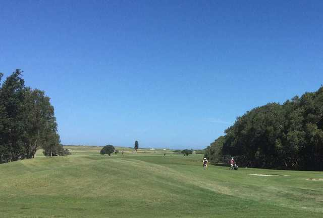View from Belmont Golf Club