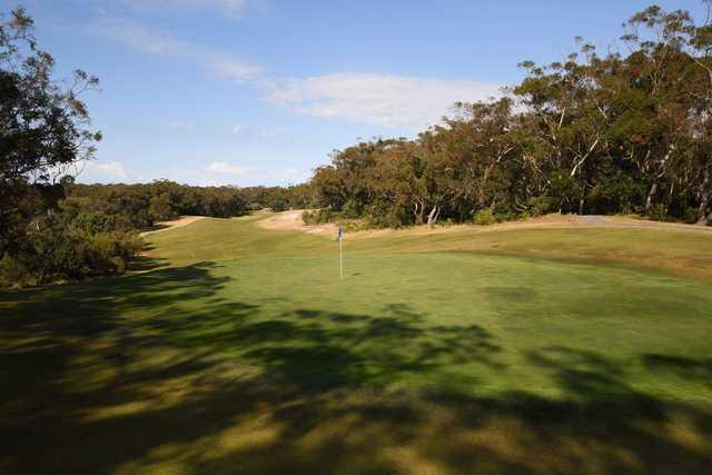 Newcastle Golf Club 6th green