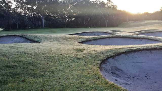 Newcastle Golf Club 4th fairway