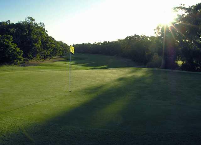 Newcastle Golf Club 4th green