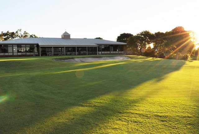 Newcastle Golf Club 2nd Hole