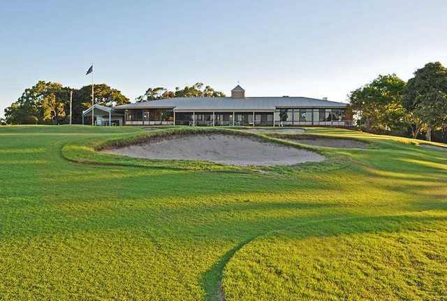Newcastle Golf Club's clubhouseouse