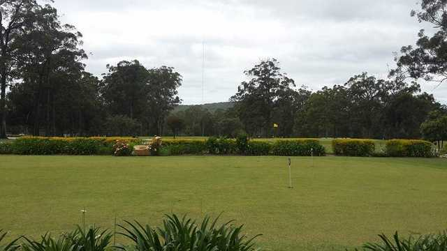 View from Kempsey Golf Club