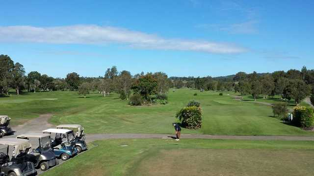 View from Mullumbimby Golf Club