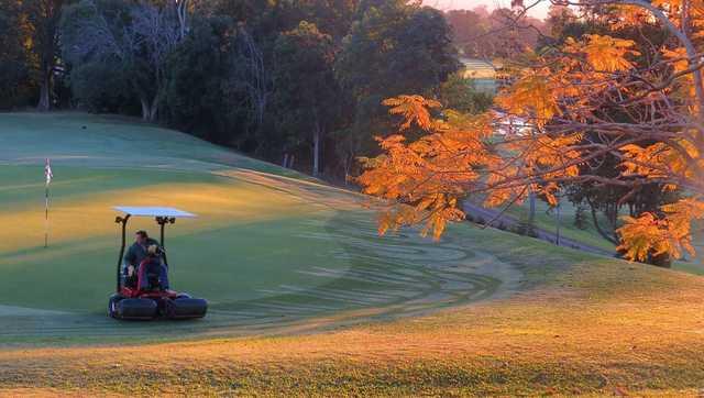 Murwillumbah Golf Club in morning light