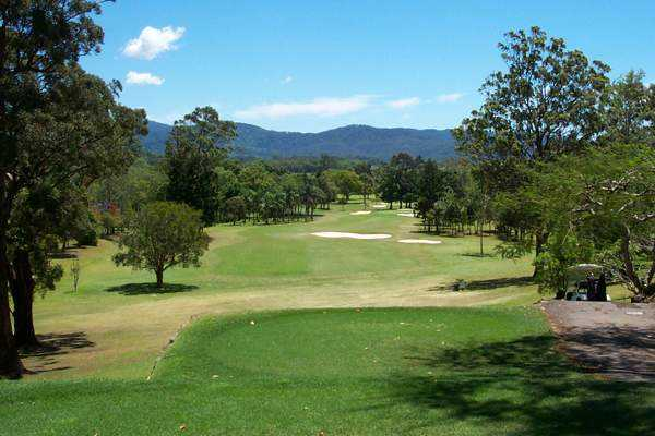 View from Murwillumbah Golf Club