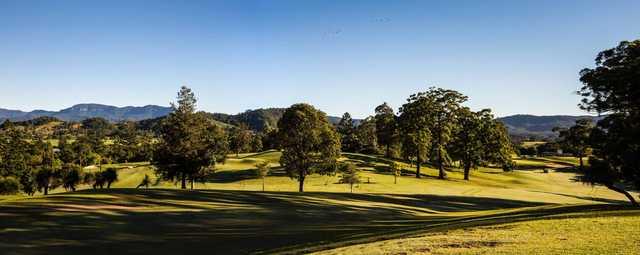 Murwillumbah Golf Club panorama