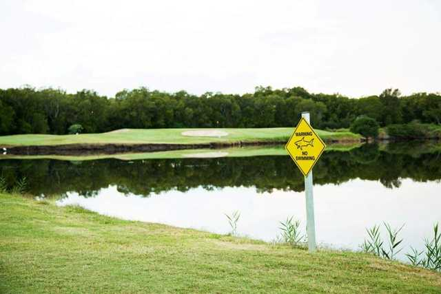 Lake on Carbrook's 15th