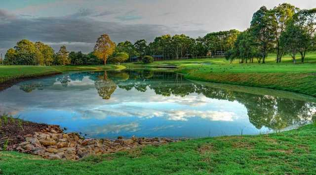 View from North Ryde Golf Club