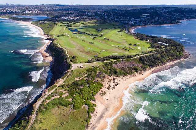 Long Reef Golf Club aerial