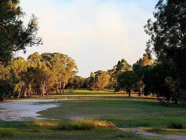 Georges River Golf Club 7th tee
