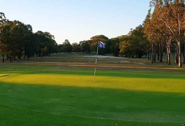 Georges River Golf Club 7th green