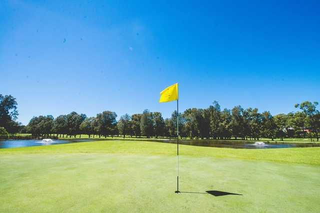 Bayview Golf Club flag