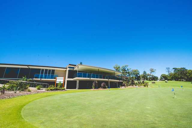 Bayview Golf Club clubhouse