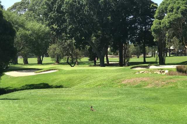 Balgowlah Golf Club 2nd hole