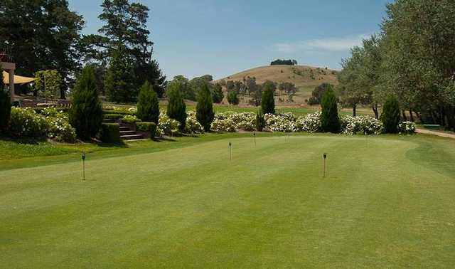 View from Mount Broughton Golf