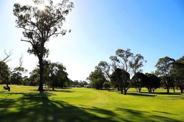 Moruya Golf Club's 18th tee