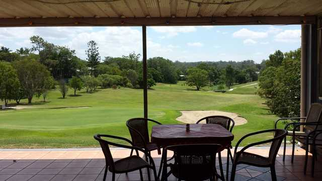 View from Jindalee Golf Club