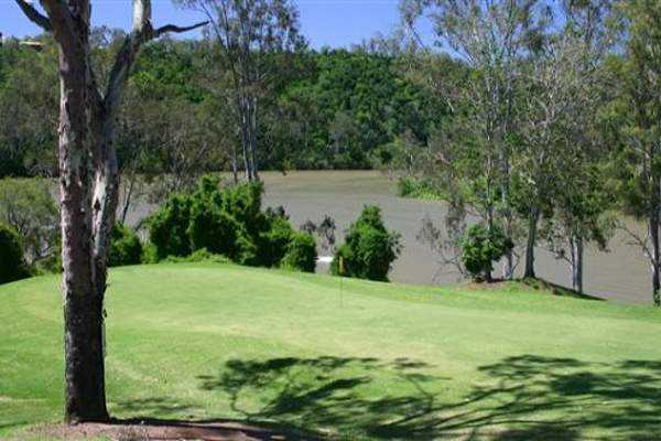 View from Brisbane River Golf Course