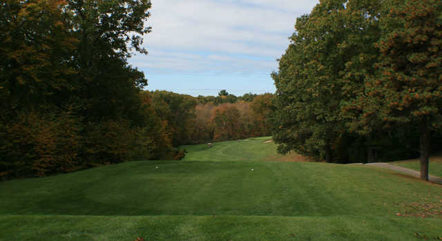 A view from tee #2 at Norwich Golf Club.