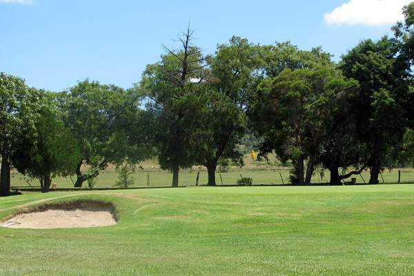 A view of green at Rosewood Golf Club.