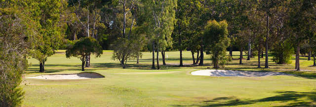 View of the 12th hole at Tewantin-Noosa Golf Club.