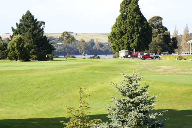 View from Devonport Golf Club