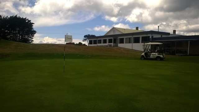 Seabrook Golf Club's clubhouse