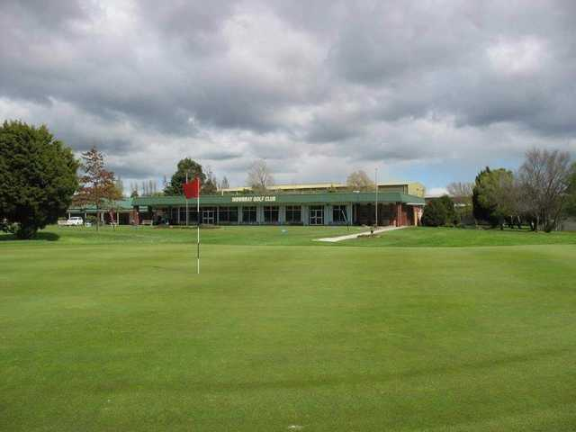 Mowbray Golf Club: the clubhouse