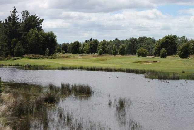 View from Llanherne Golf Club
