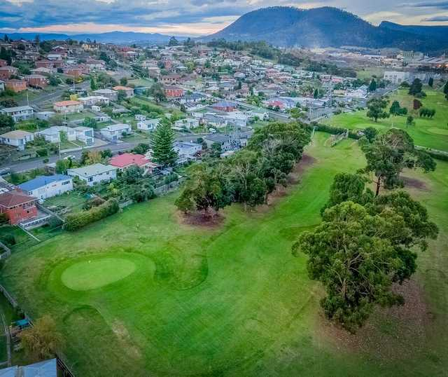 New Town Bay GC: aerial