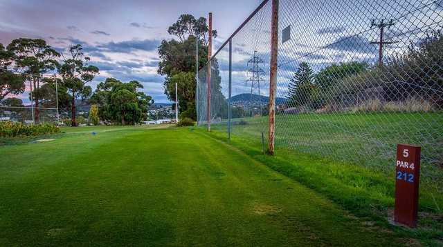 New Town Bay GC: 5th tee