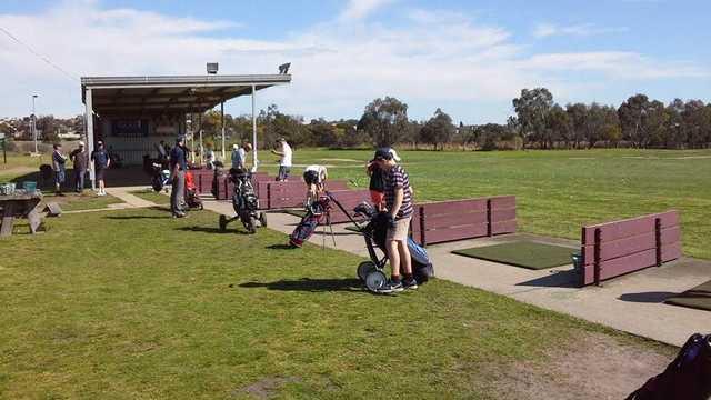 Barwon Valley Golf Club's driving range