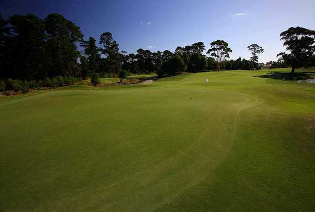 View from Ballarat golf course
