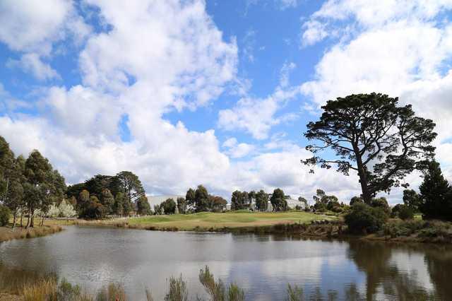 Ballarat Golf Club par-3 11th