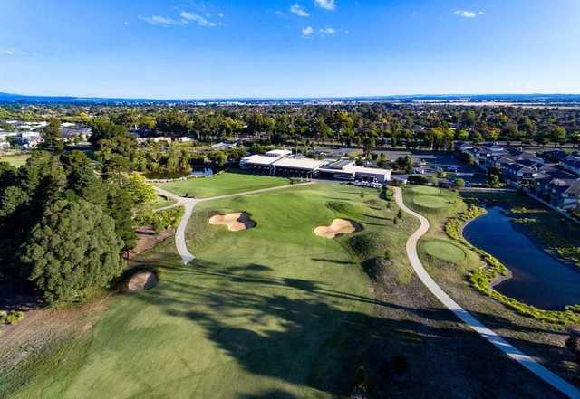 Ballarat Golf Club aerial