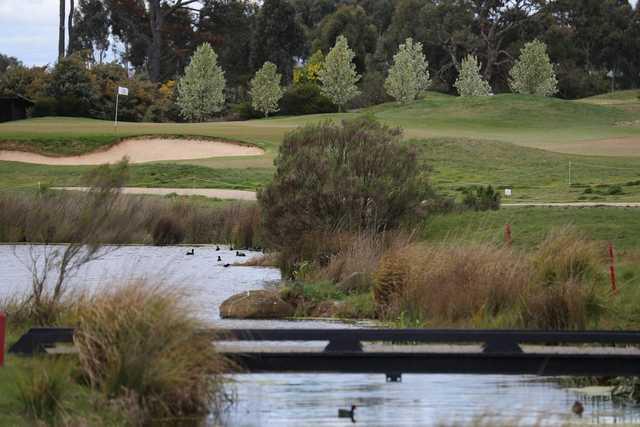 Ballarat Golf Club creek