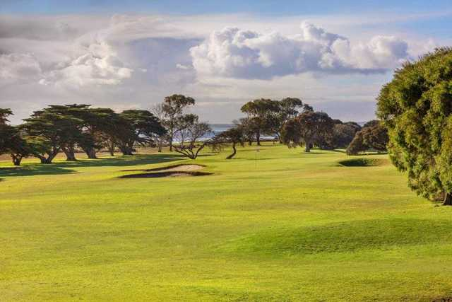 View from Queenscliff Golf Club