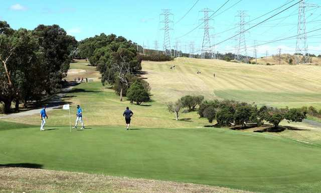 Waverley Golf Course in Melbourne
