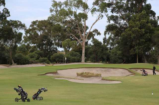 Commonwealth GC: 18th hole