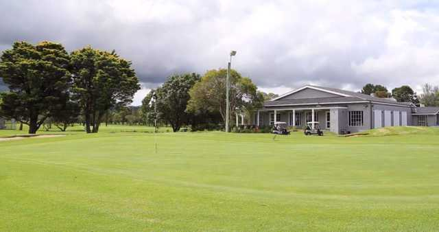 View of the clubhouse at Grange Golf Club.