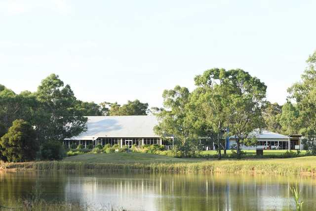 View of the clubhouse at Thurgoona Country Club Resort.
