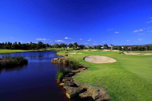 View of the 8th green from the Ellenbrook Courseat Vines Resort & Country Club