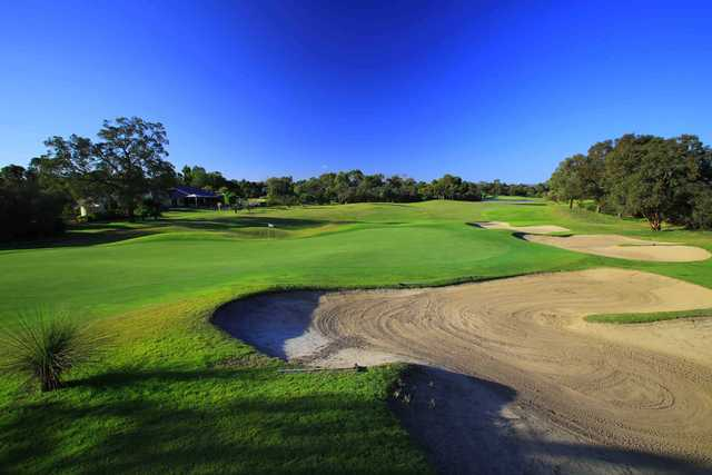 View of a green at Vines Resort & Country Club.